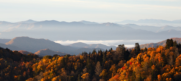 greatsmoky-fall