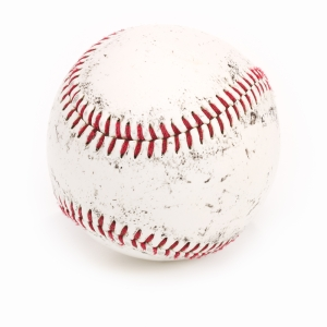 Opening Month of Major League Baseball Season - Image of a Baseball